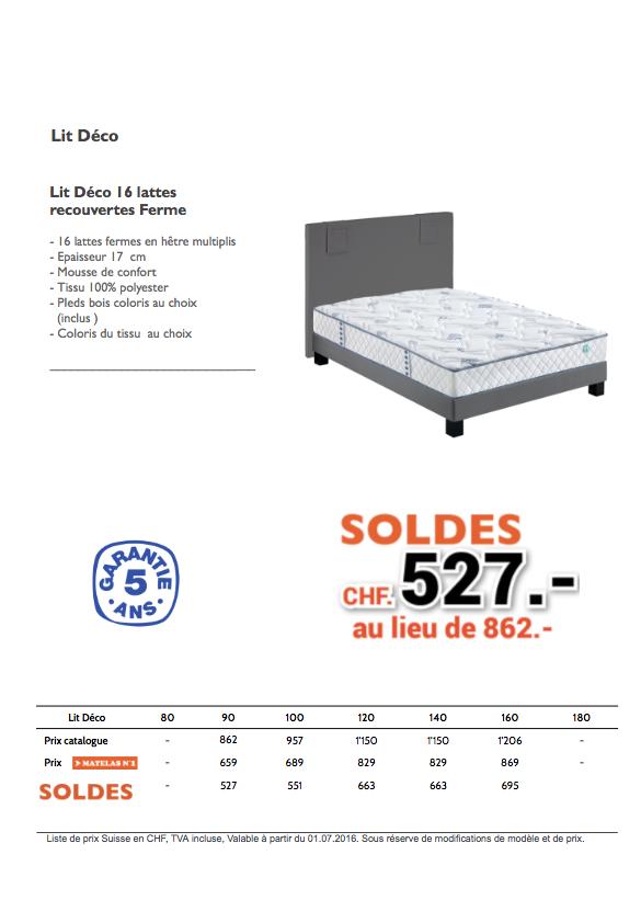 soldes lit d co matelas n1. Black Bedroom Furniture Sets. Home Design Ideas