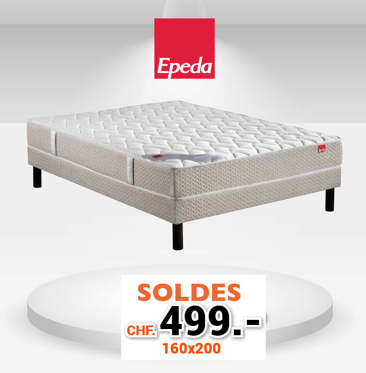 surmatelas pas cher 160x200 stunning lit matelas mousse x haute rsilience super confort pas. Black Bedroom Furniture Sets. Home Design Ideas